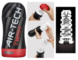 TENGA Air Tech Twist Tickle - maszturbátor