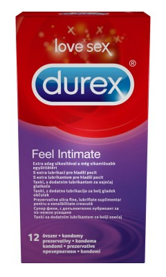 Durex óvszer FEEL INTIMATE (12db)