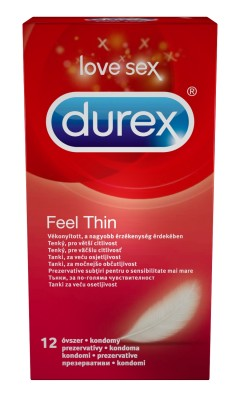Durex óvszer FEEL THIN (12db)
