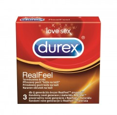 Durex óvszer REAL FEEL (3db)